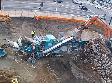 Concrete Crushing